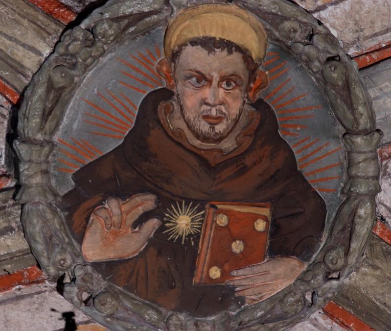Ambito bolognese sec. XV, San Tommaso d'Aquino