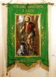 Manif. Italia centr. sec. XX, Stendardo dipinto di San Rocco