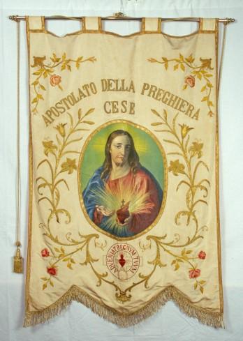 Manif. marsicana sec. XX, Stendardo del Sacro Cuore di Gesù
