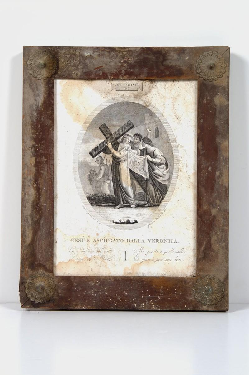 Agricola L.-Canali G. sec. XVIII, Gesù Cristo asciugato dalla Veronica