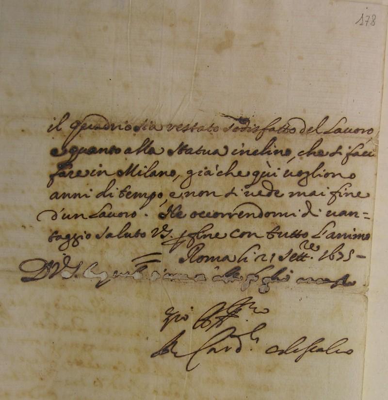 Fondo Famiglia Erba Odescalchi. Epistolario di Benedetto Odescalchi - Innocenzo XI
