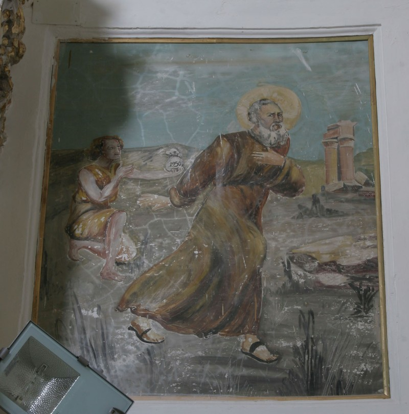 Agliata A. (1950), Sant'Antonio Abate rinunzia ai beni terreni