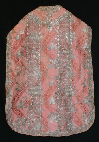 Manifattura italiana sec. XVIII, Pianeta rosa