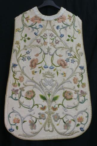 Manifattura italiana sec. XVIII, Pianeta bianca