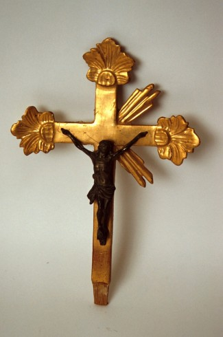 Bottega piemontese sec. XVIII, Croce processionale h. 28