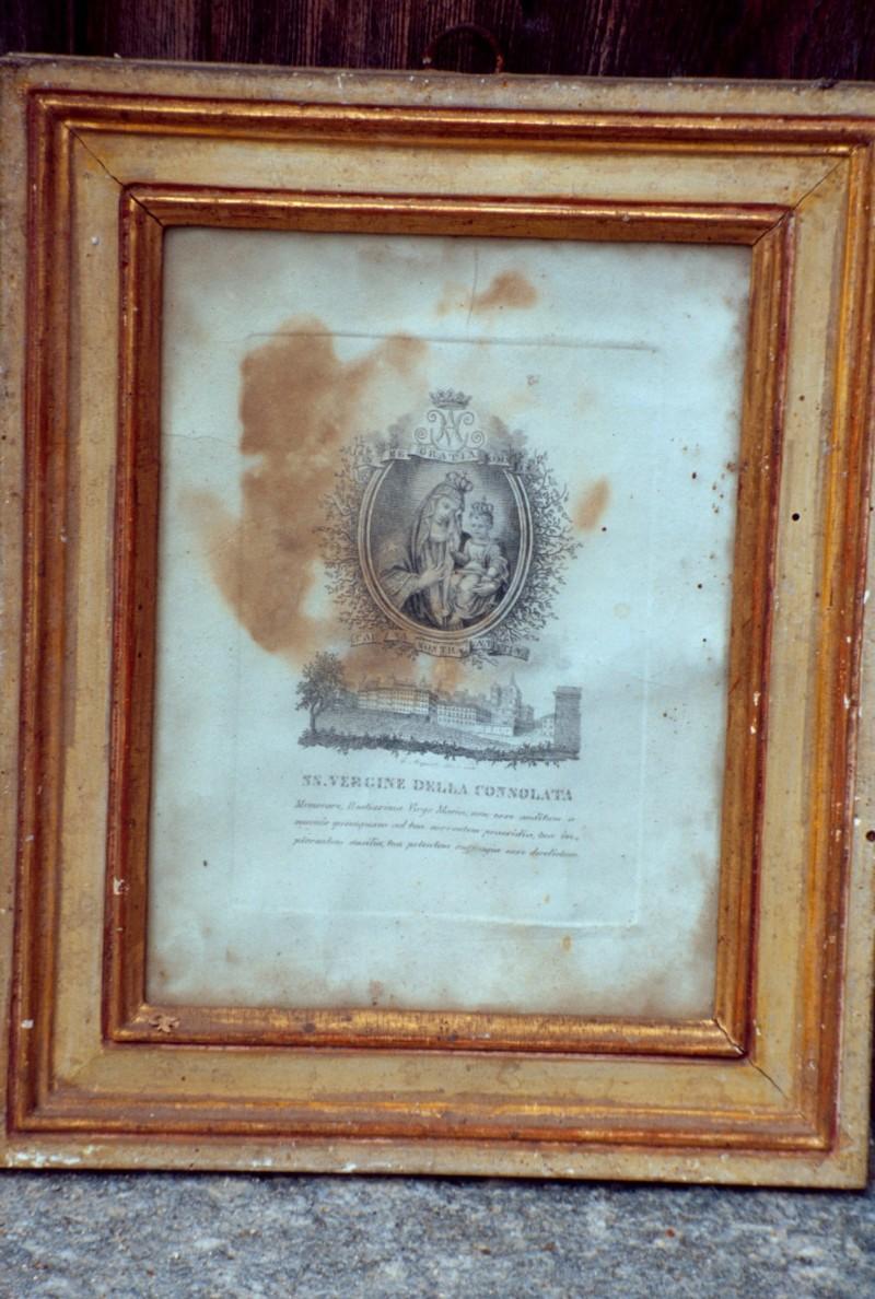 Acquisti L. secc. XVIII-XIX, Vergine della Consolata