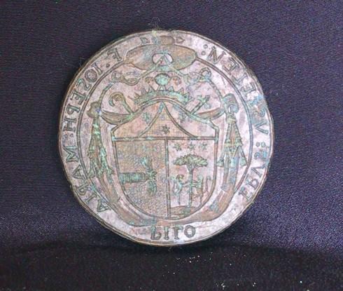 Bott. italiana sec. XVIII, Sigillo con stemma di Mons. Pilo