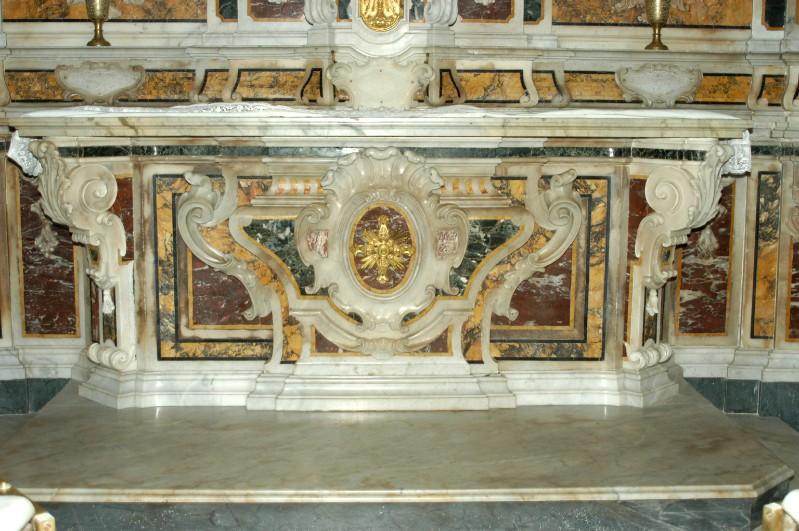Marmoraro campano sec. XVIII, Paliotto di San Marcellino