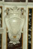 Marmoraro campano (1782), Lastra con stemma sinistro