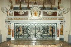 Marmoraro campano sec. XVIII, Paliotto di San Sisto