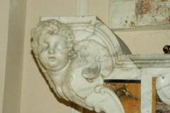 Marmoraro campano sec. XVIII, Capoaltare sinistro di San Sisto