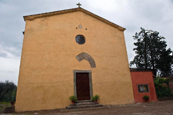 Pieve di Santa Maria a Coeli Aula (Montespertoli)