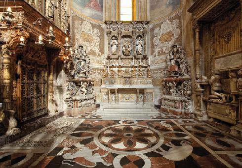 Cappella Sant'Agata, scorcio