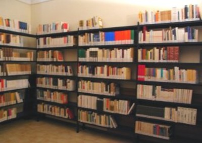 Magazzino della Biblioteca Ferrini