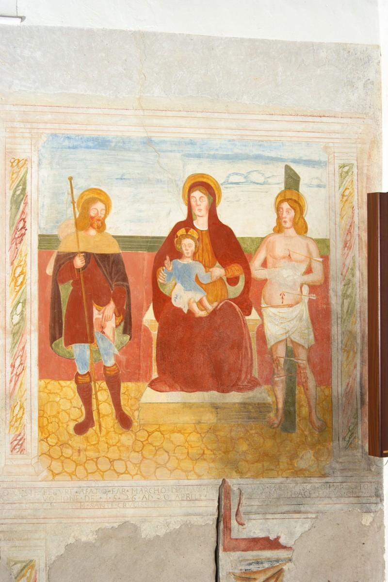 Albanese G.P. (1526), Madonna tra i Santi Sebastiano e Rocco