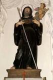 Bottega siciliana sec. XVIII, Statua di S. Francesco di Paola