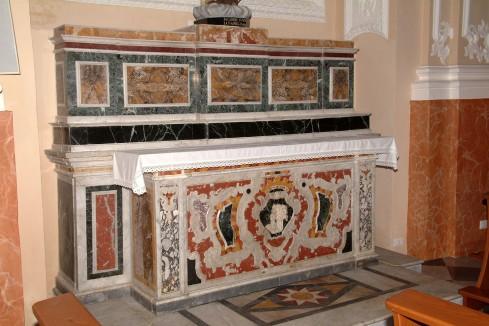 Maestranze siciliane secc. XVIII-XIX, Altare della Madonna del Carmelo