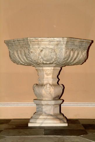 Maestranze siciliane sec. XVI, Fonte battesimale