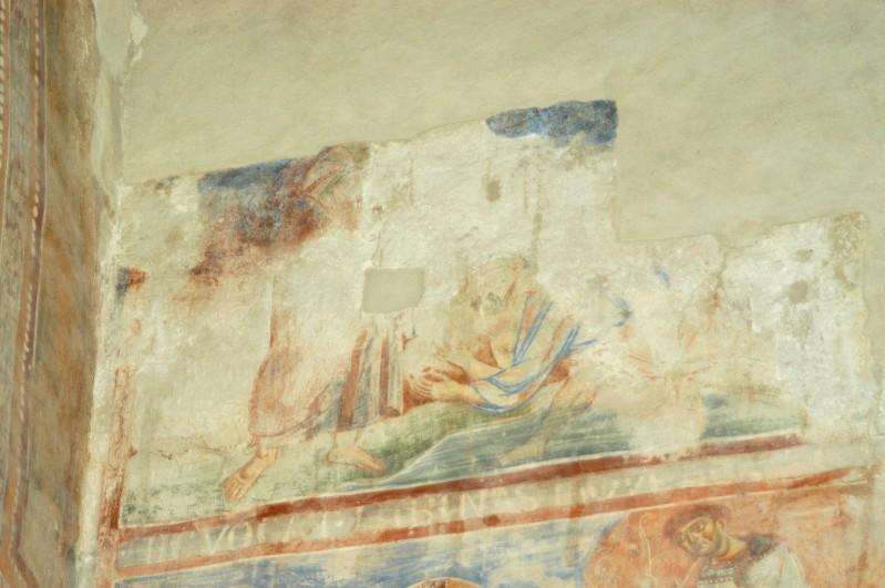 Scuola campana-cassinese sec. XI, Affresco con scena del Nuovo Testamento 1/6