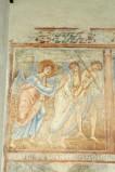 Scuola campana-cassinese sec. XI, Affresco con la cacciata dei progenitori