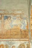Scuola campana-cassinese sec. XI, Affresco con l'offerta di Caino e Abele