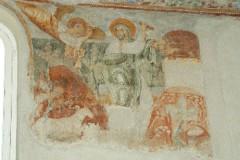 Scuola campana-cassinese sec. XI, Affresco con il sacrificio di Isacco