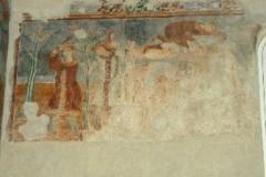 Scuola campana-cassinese sec. XI, Affresco con la costruzione dell'arca