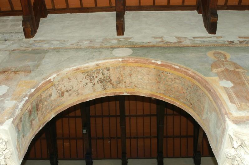 Scuola campano-cassinese sec. XI, Affresco decorativo 1/15
