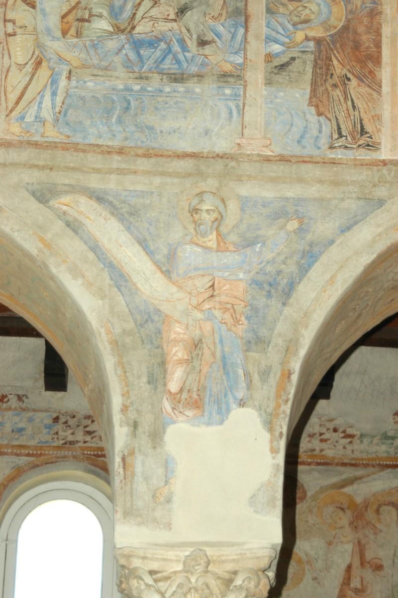 Scuola campana-cassinese sec. XI, Affresco con il profeta Osea