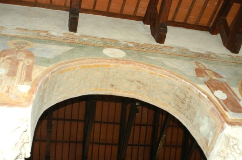 Scuola campano-cassinese sec. XI, Affresco decorativo 4/15