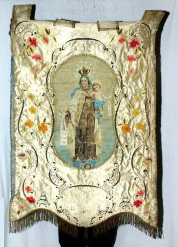 Ditta Bertarelli sec. XX, Gonfalone della Madonna del Carmelo