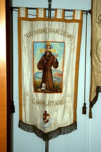 Manifattura campana sec. XX, Gonfalone francescano