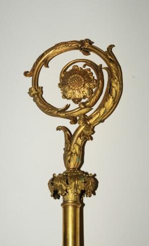 Produzione campana sec. XIX, Pastorale dorato