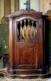 Ambito piemontese sec. XIX, Confessionale