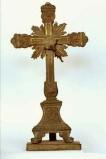 Ambito piemontese sec. XIX, Croce d'altare in lamina