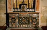 Ambito piemontese sec. XVIII, Altare della Madonna del Rosario
