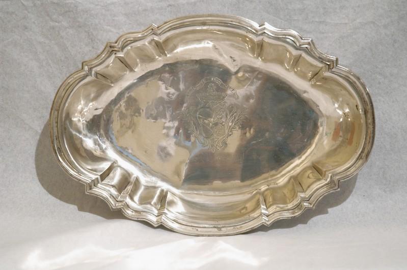 Bott. piemontese sec. XVIII, Bacile d'argento