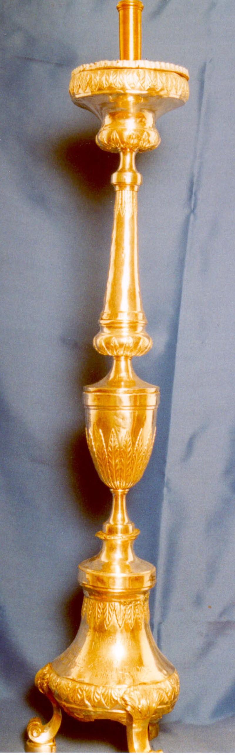 Aiello S. (1806), Candeliere d'altare 3/3