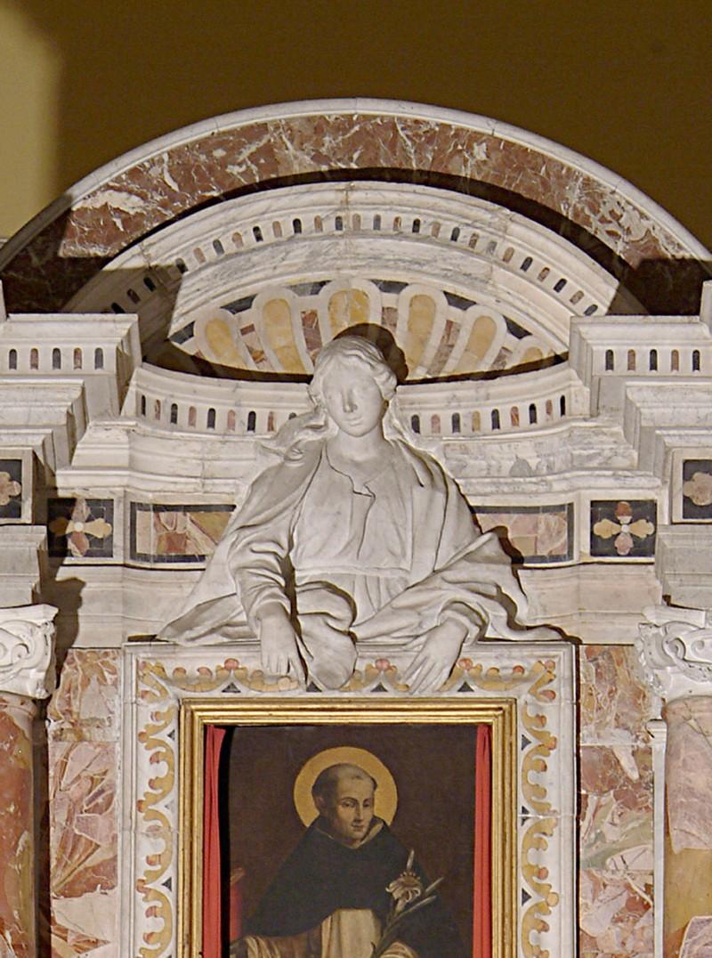 Bottega siciliana sec. XVIII, Altorilievo con la Madonna