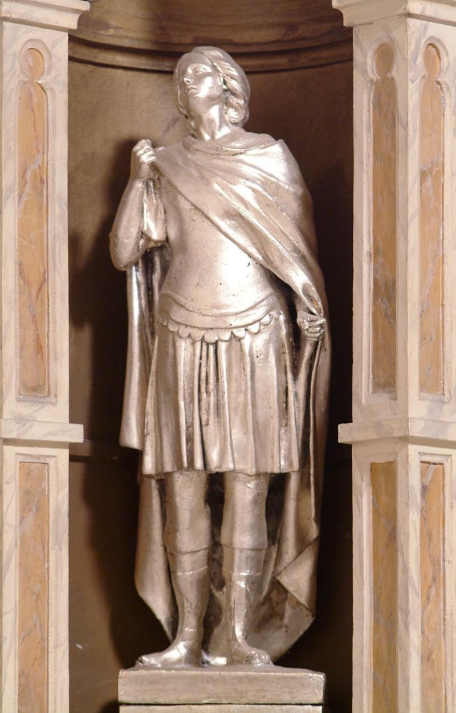 Bottega siciliana secc. XIX-XX, Statua di Soldato romano