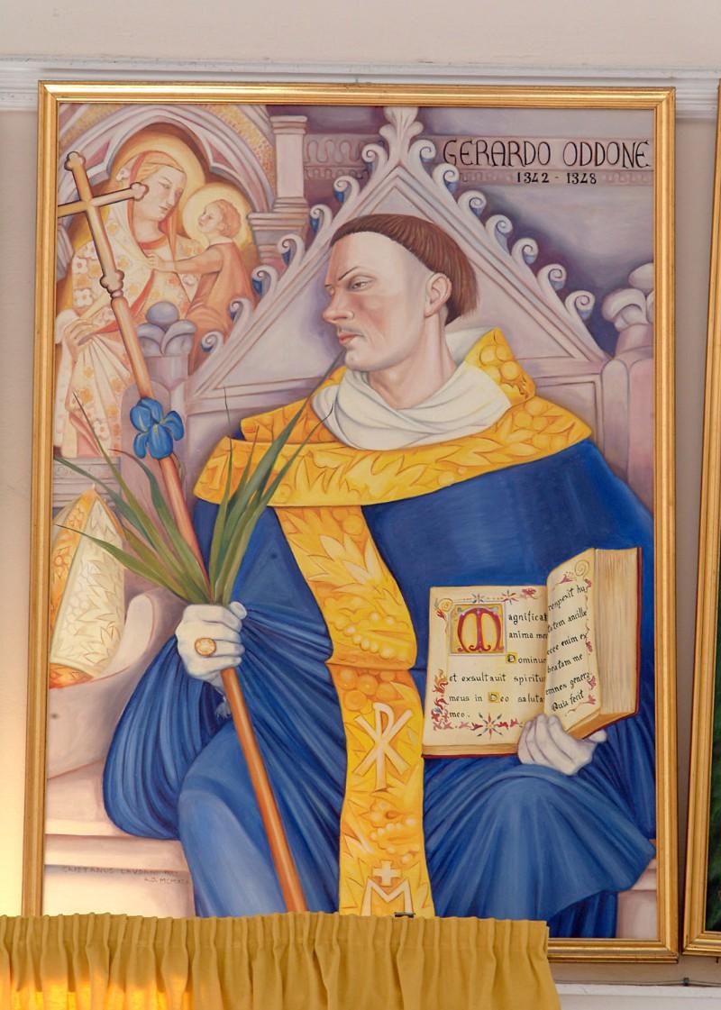Bottega siciliana sec. XX, Ritratto del vescovo Gerardo Oddone