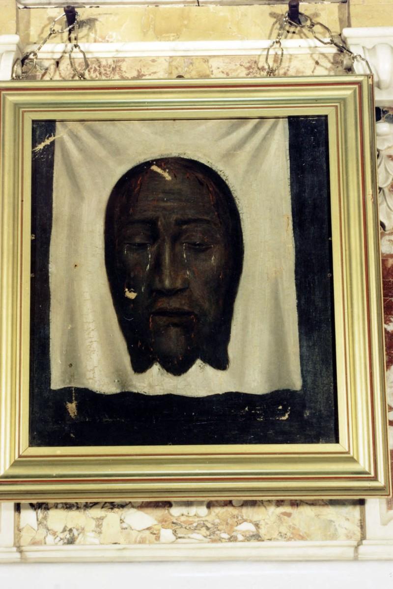 Bottega siciliana sec. XVII, Dipinto del Velo della Veronica