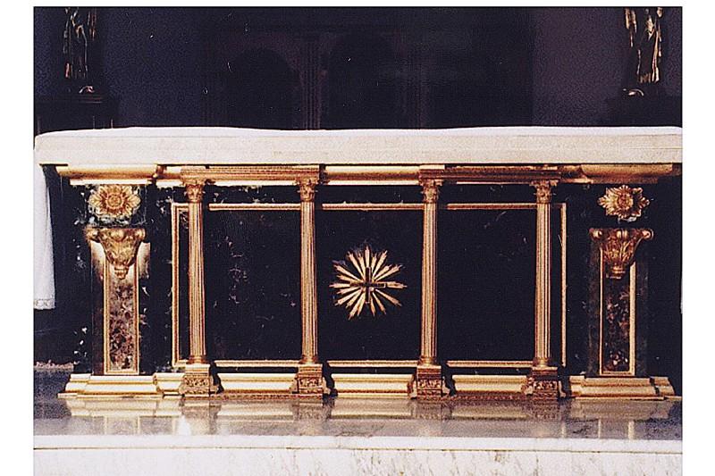 Bottega siciliana secc. XIX-XX, Altare