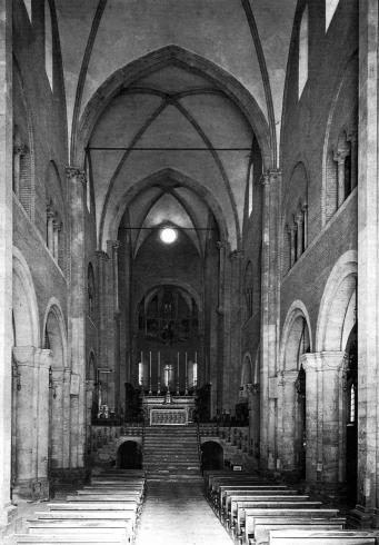 Il presbiterio prima del 1969