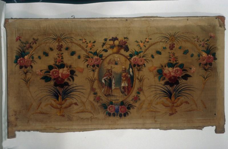 Abbà G. A. (1847), Paliotto con Trinità e santi