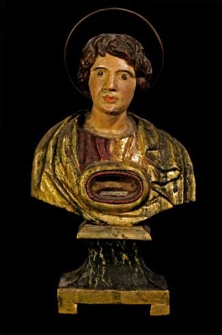 Bottega laziale sec. XIX, Busto reliquiario di Santa Sabina
