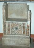 Ambito romano sec. XIII, Cattedra