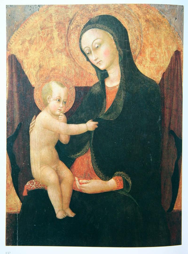 Stefano di Giovanni detto Il Sassetta sec. XV, Madonna delle ciliegie