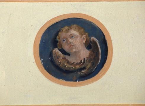 Alpago D. sec. XIX, Cherubino della cantoria