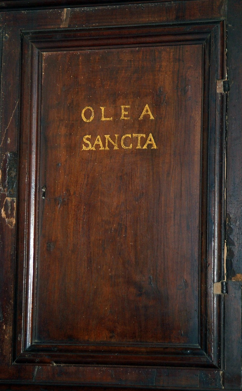 Bottega eugubina (1532), Sportello degli Oli santi
